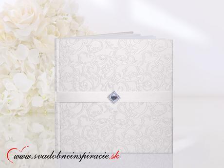 Elegantná Kniha hostí ELIZABETH (50 strán),