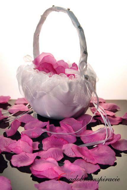 Košíček na lupienky ruží ,