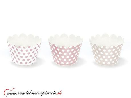 Košíčky na cupcakes/muffiny (6 ks),