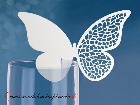 Menovky - motýlik (10 ks),