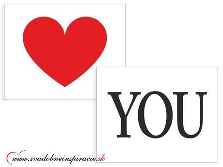 Nálepky na topánky LOVE YOU (2 ks), 38