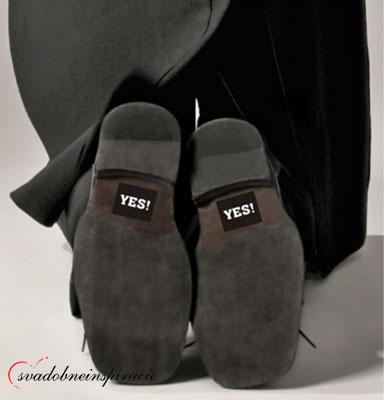 """Nálepky na topánky """"YES"""" (2 ks),"""