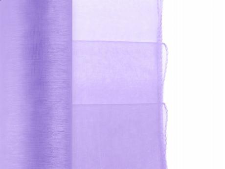 Obšitá organza v rôznych farbách 0,38x9 m za 3,05,