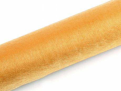 Organza 0,16x9 m - zlatá,