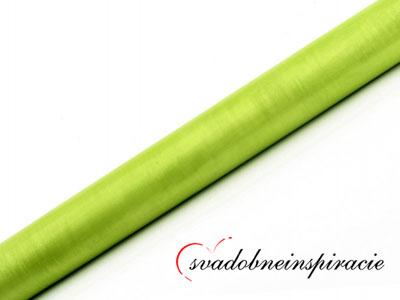 Organza 0,36x9 m Zelené jablko,