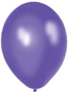 Perleťové balóniky - Fialové (25 ks za 2,50 Eur),