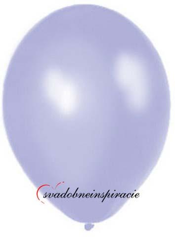 Perleťové balóniky - levanduľové 20 ks,