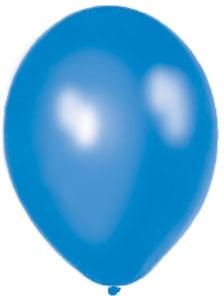 Perleťové balóniky - modré (25 ks za 2,50 Eur),