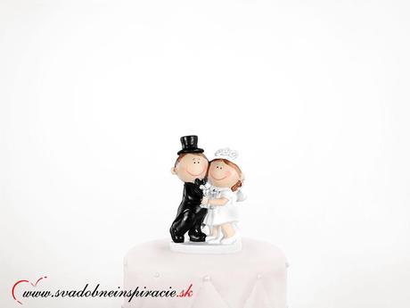 Postavička na svadobnú tortu - Prvý prípitok,
