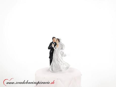 Postavička na svadobnú tortu - Prvý tanec,