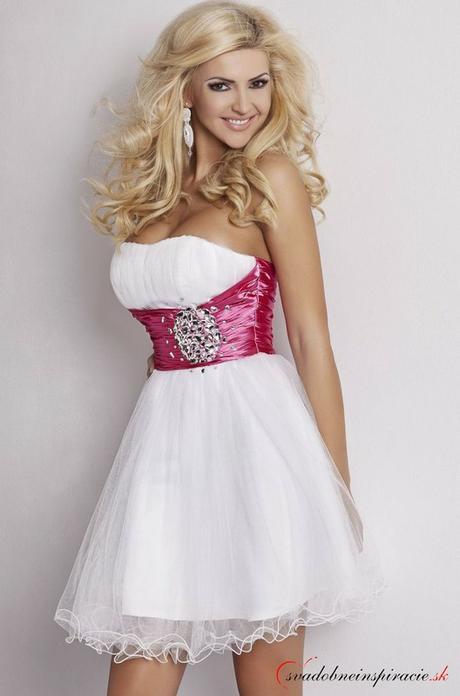 Spoločenské šaty angela  biele  213ab91db0