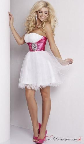 Spoločenské šaty angela  biele  bb1829eb0f7
