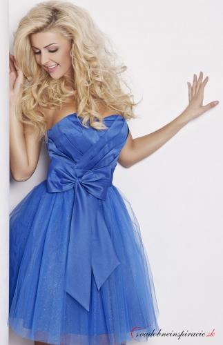 4a993333226 Spoločenské šaty michelle  modré