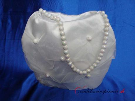 Svadobná kabelka CATERINA,