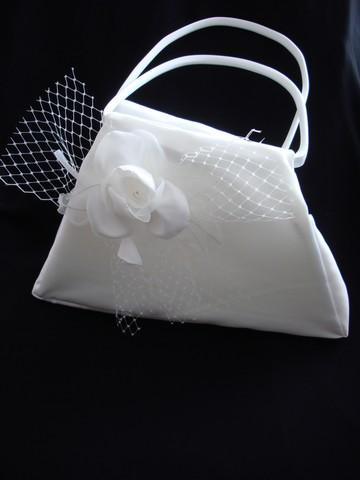 Svadobná kabelka GRAZIA,