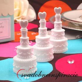 Svadobné bublifuky - tortičky,