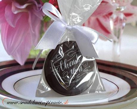 """Svadobné čokoládky """"Dukátik"""" - aj s Vašimi menami ,"""