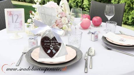 """Svadobné čokoládky """"SRDIEČKO"""" - aj s Vašimi menami,"""