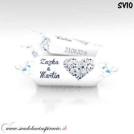 Svadobné krovky Personalizované (1 kg),