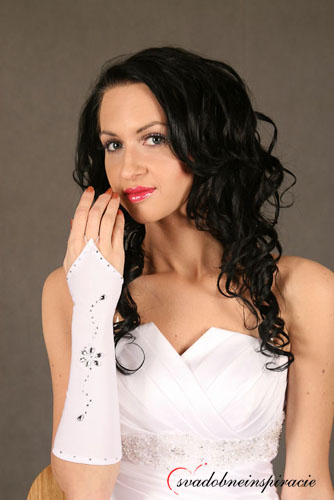 Svadobné rukavičky ,