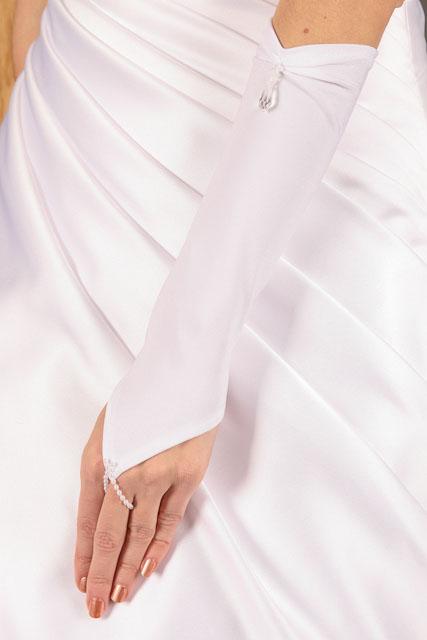 Svadobné rukavičky R- 50,