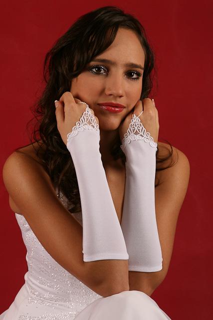 Svadobné rukavičky R- 58,