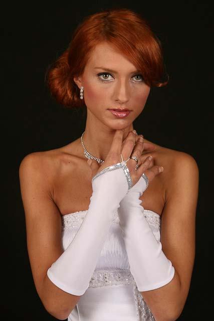 Svadobné rukavičky RS-8,