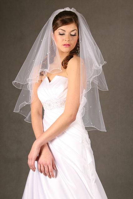 Svadobné závoje - rôzne typy, farby, dĺžky,