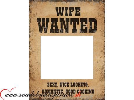 Svadobný poster na fotenie (2 ks),