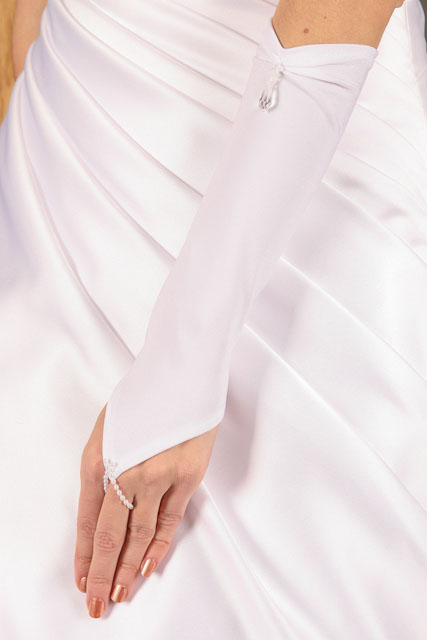 Svatební rukavičky Rosa,