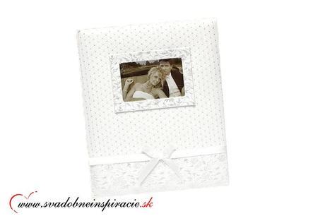 Vyšívaný svadobný fotoalbum ANNA,