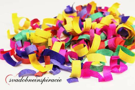 Vystreľovacie confetti ,