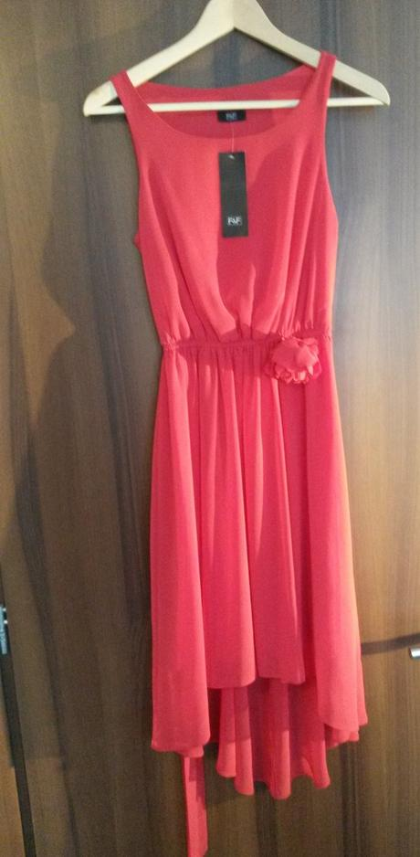 Červene F&F šaty, 36
