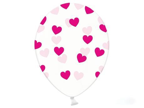 Balóny srdiečkové - rôzne farby,