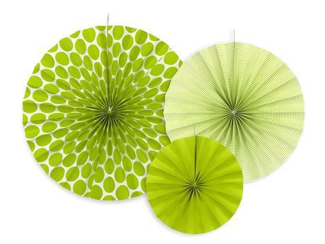 Dekoračné rozety - rôzne farby,