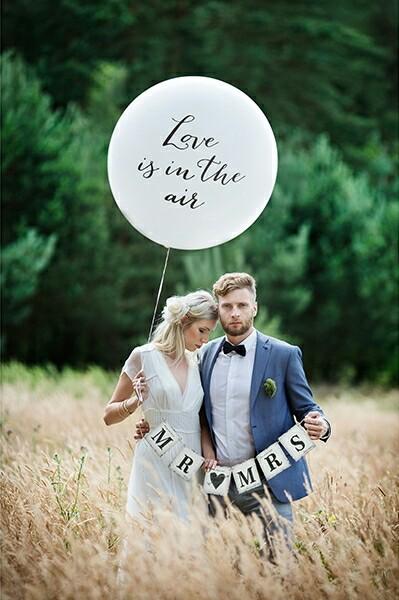 Jumbo balón Love is in the air,