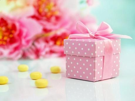 Krabička Dots ružová ,