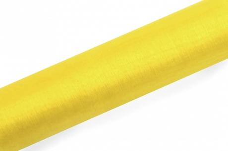Organza 16cmx9m - rôzne farby,