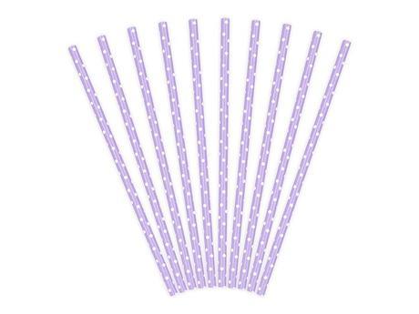 Papierové slamky (10ks) - rôzne farby,
