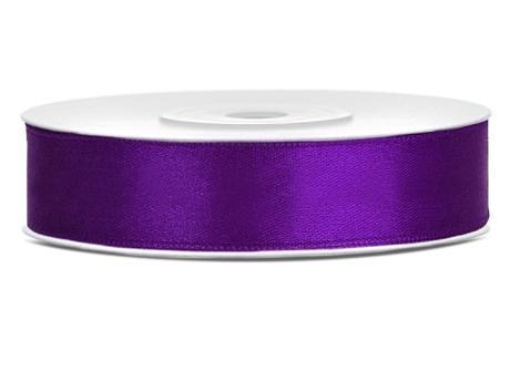 Saténová stuha 12mm - rôzne farby,