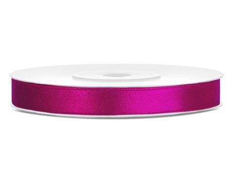 Saténová stuha 6mm - rôzne farby,