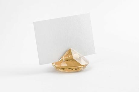 Stojan na menovku diamant- rôzne farby,