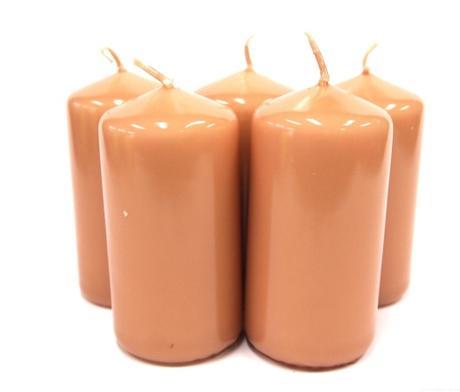 Sviečka valec 10cm - rôzne farby,