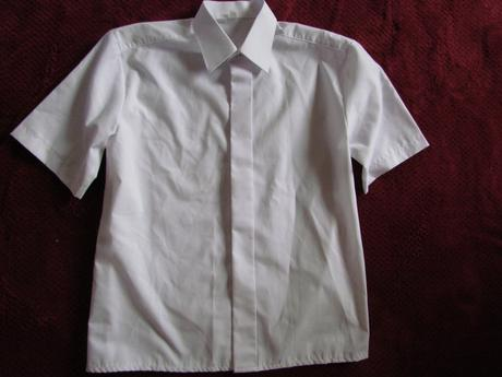 bílá košile vel. 128, 128