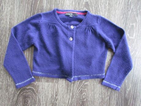 fialové bolérko na šaty vel. 110, 110