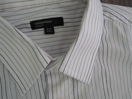košile s jemným proužkem vel. 42, 42