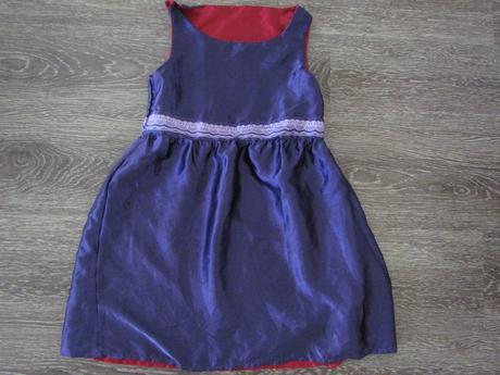 oboustranné šaty vel. 122, 122
