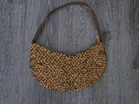 Plesová kabelka z flitrů,