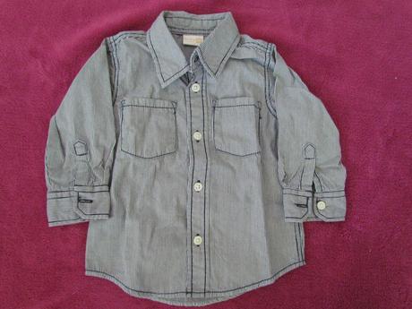 pruhovaná košile Lindex vel. 68 , 68