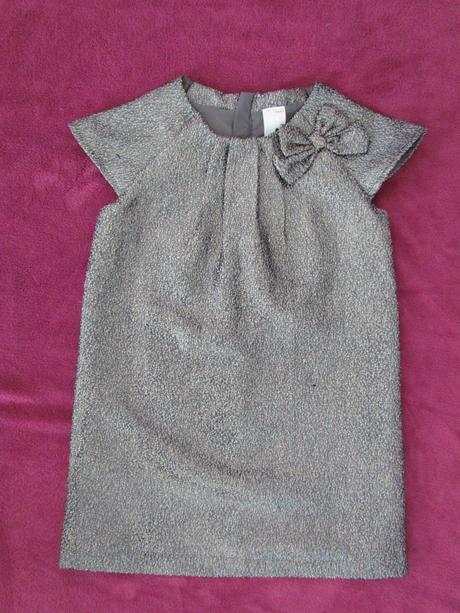 společenské třpytivé šaty vel. 122, 122